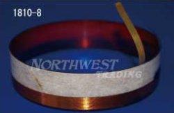 画像1: 内径99.06ミリ 銅リボン線,エッジワイズ巻 JBL D130用 ペア(2個)