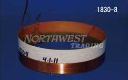 画像1: 内径99.06ミリ 銅リボン線,エッジワイズ巻 JBL2205用  ペア(2個)