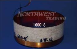 画像1: 内径76.2ミリ 銅リボン線,エッジワイズ巻 Altec515B用 ペア(2個)お取り寄せ商品
