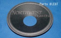 画像1: コーン紙直径143.0ミリ 1山エッジ付きストレートコーン JBL LE8T用 ペア