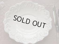 画像1: COTE TABLE  トリアノン ホワイト スーププレート