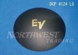 画像1: 外径105.5ミリ 紙製 EV 用 ロゴ入りダストキャップ ペア  DCP4124LG
