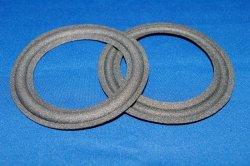 画像1: コーン紙直径73.0ミリ ウレタン製 Fostex FW100用 ペア