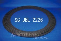 """画像1: スピーカーエッジ """"SC JBL 2226""""JBL 2226用 クロスエッジ ペア"""