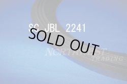 """画像1: スピーカーエッジ """"SC JBL 2241""""JBL 2241H用46センチ クロスエッジ 2本組"""