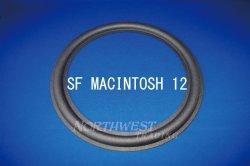 """画像1: スピーカーエッジ """"SF MCINTOSH 12""""MCINTOSH 12 ウレタンエッジ ペア(コーン紙の直径240ミリ)"""