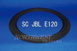 """画像1: スピーカーエッジ """"SC JBL E120""""JBL 30センチ用m型クロスエッジ ペア"""